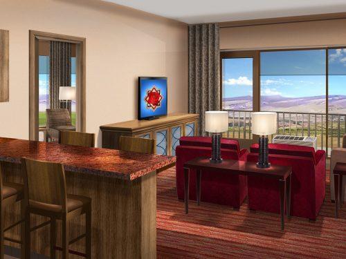 Suite Hotel room