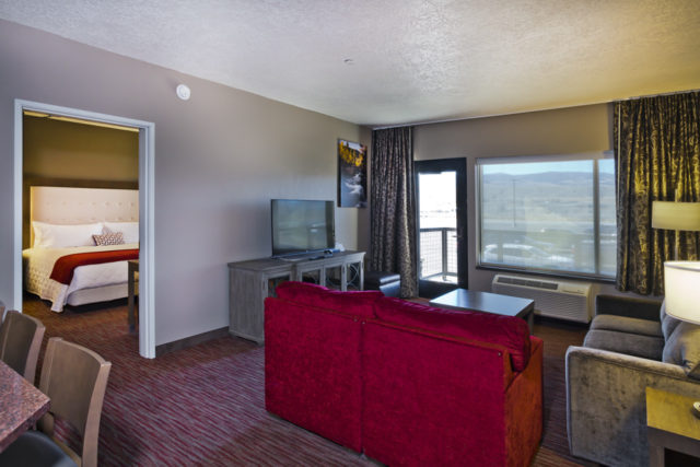 Living Room area from Shoshone Rose Casino Hotel suite