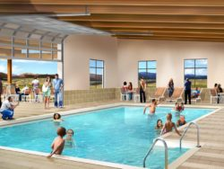 Swimming pool rendering