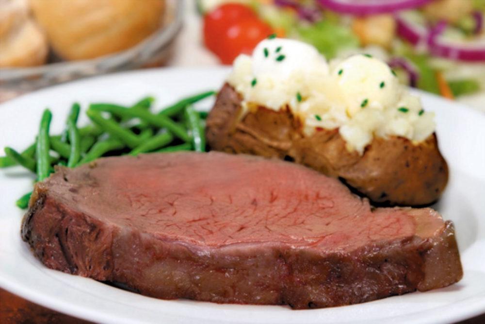 steak with potato