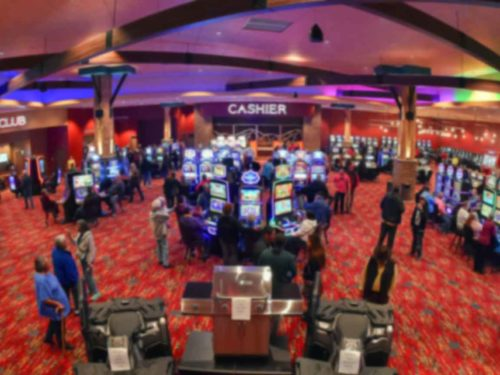 The gaming floor at our Lander Wyoming hotel and casino